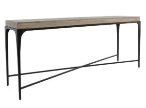 Darwin Wood and Iron Console Table