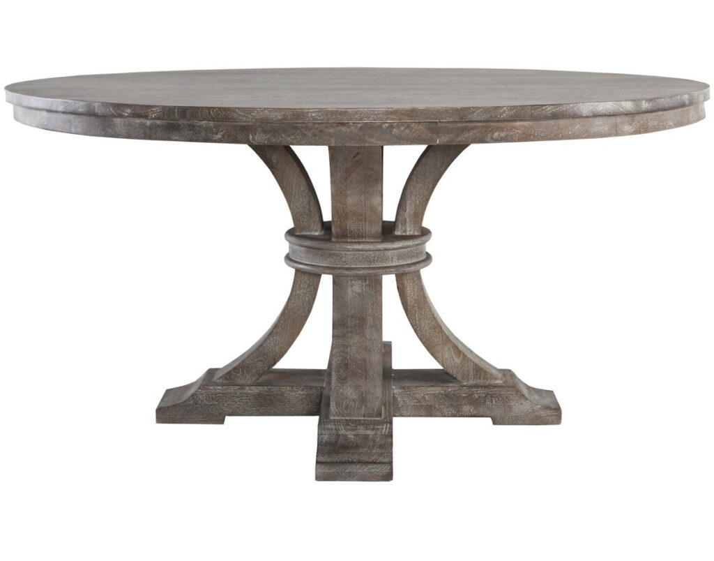 60″ Athena Round Mango Wood Dining Table