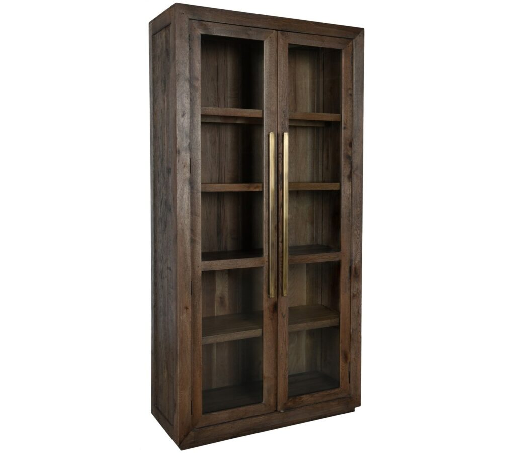 Bradley Tall Glass Cabinet