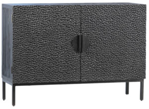 Athens Small Black Sideboard