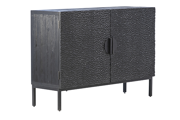 small black sideboard angle view