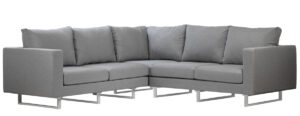 94″ Outdoor Sectional with Sunbrella Cushions