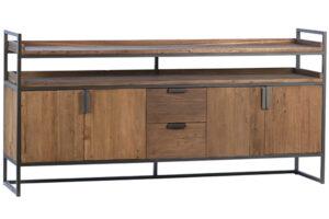 Allana Reclaimed Wood and Iron Sideboard