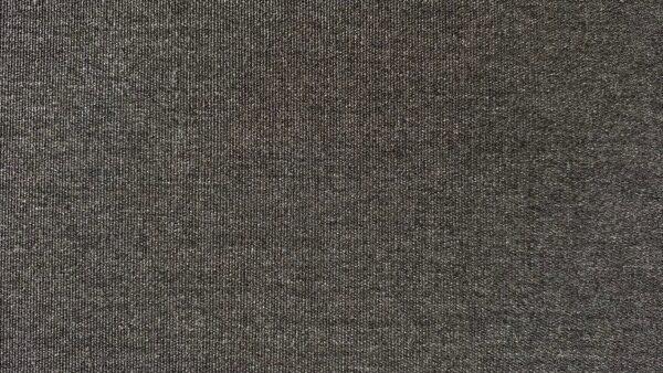 Dark grey 3 seat outdoor sofa fabric closeup