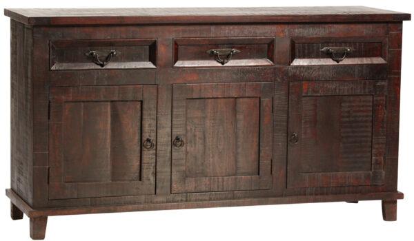 dark wood sideboard