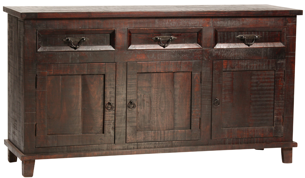 Havana Dark Wood Sideboard