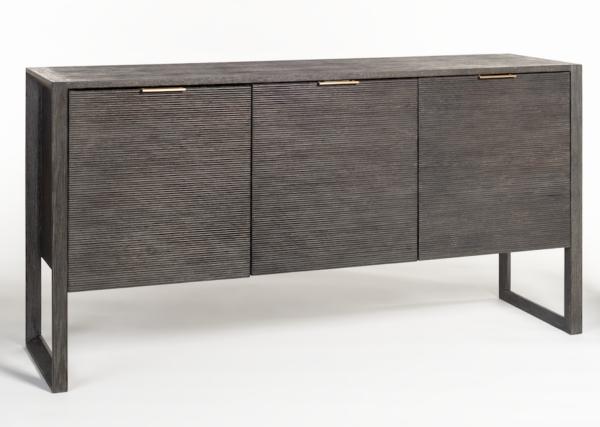 black modern sideboard