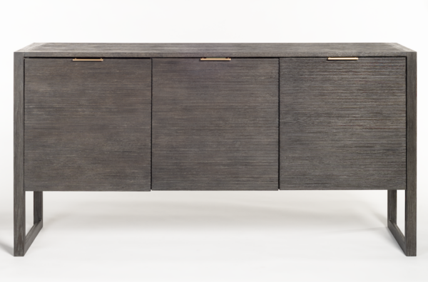 black modern sideboard front view