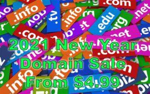 Domain Registration Sale