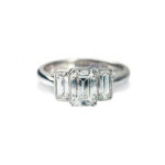 Heirloom Our Future Emerald Cut Ring