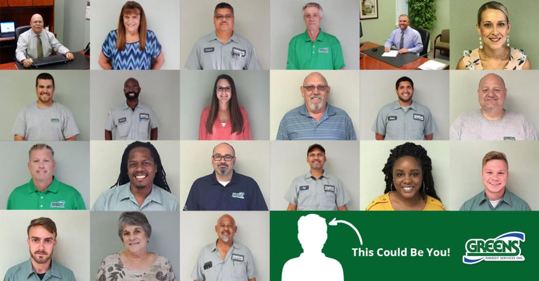 work at greens energy