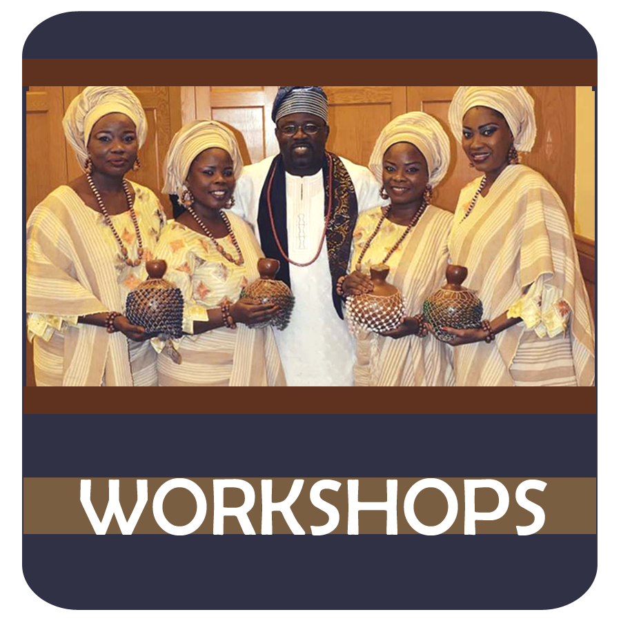 ADUNNI & NEFRETITI - WORKSHOPS