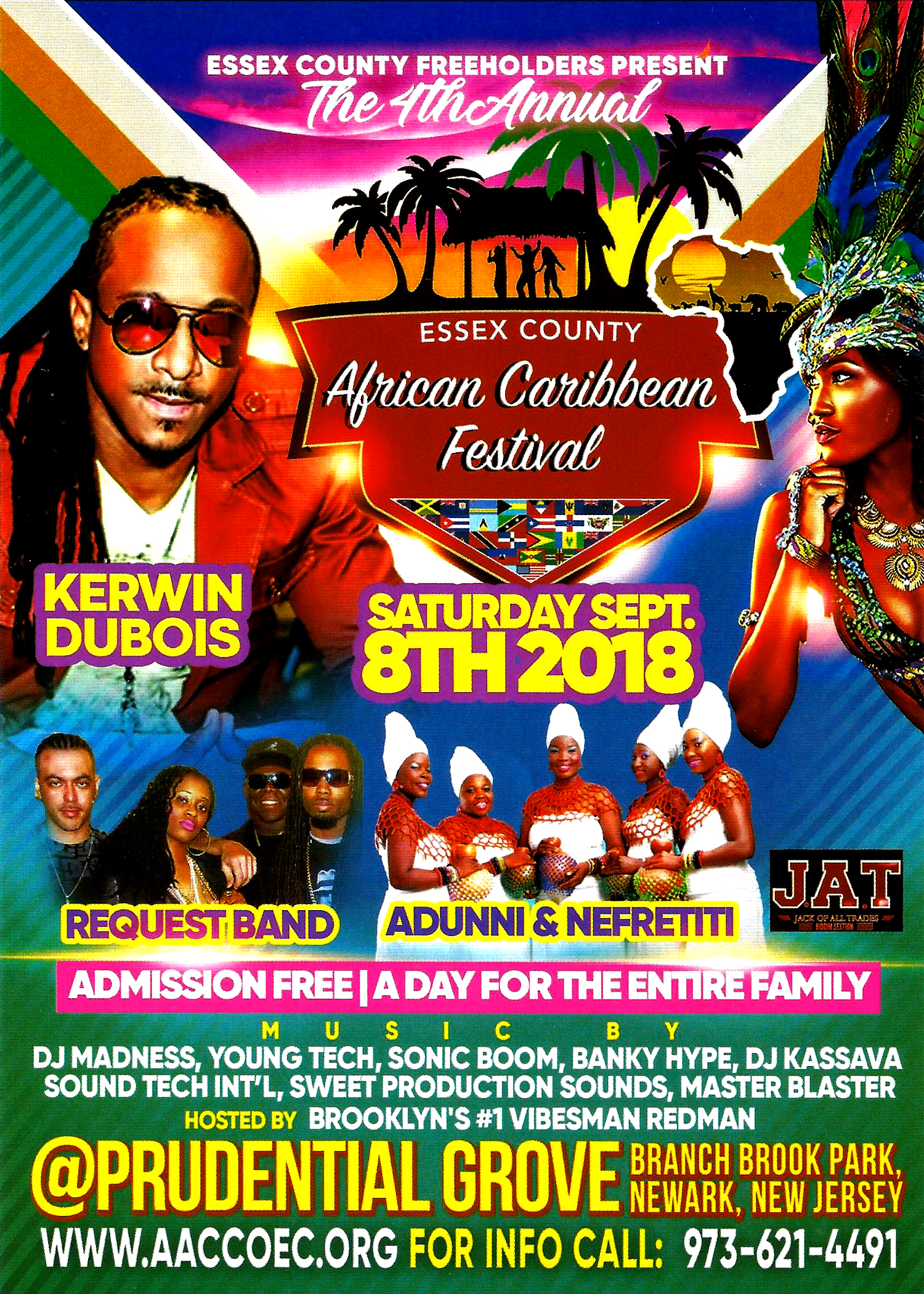 4th Essex County Annual African Caribbean Festival