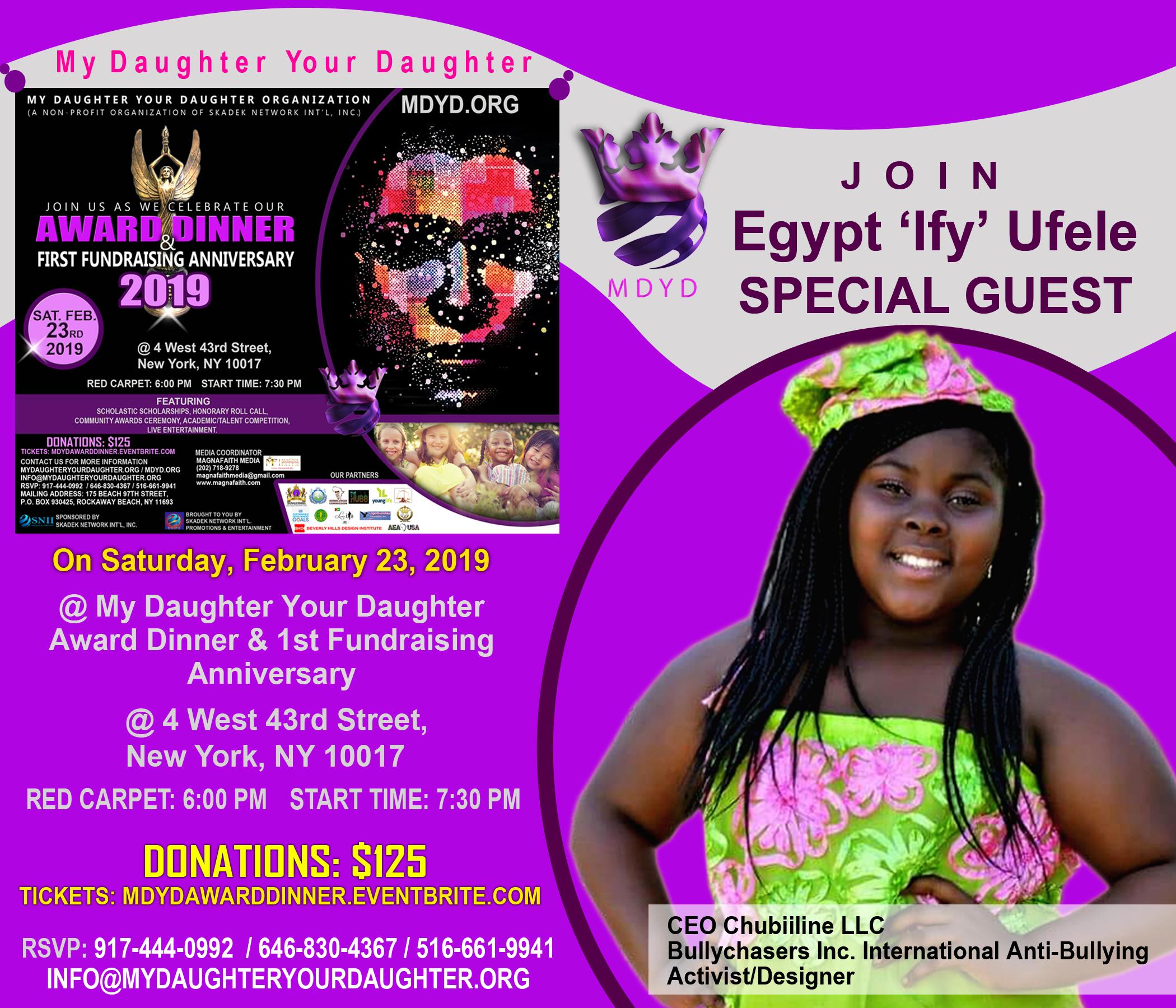 MDYD Promo Card - Egypt 'Ify' Ufele
