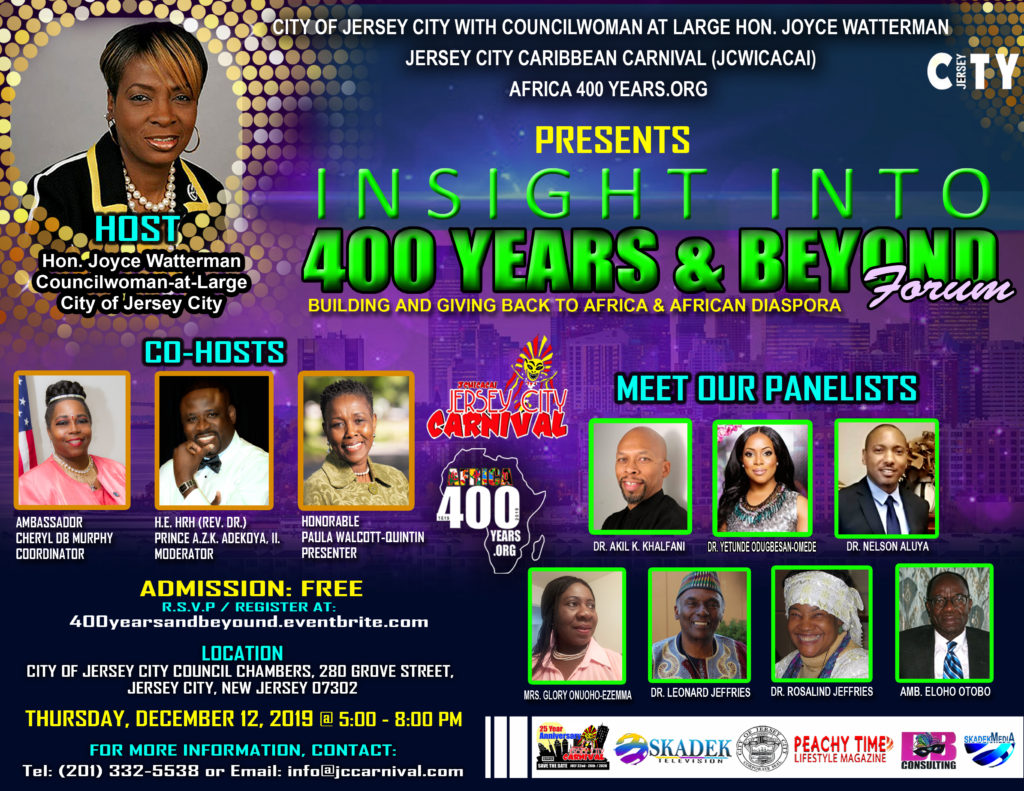 Insight Into 400 Years & Beyond Seminar - HOST, CO-HOSTS & PANELISTS