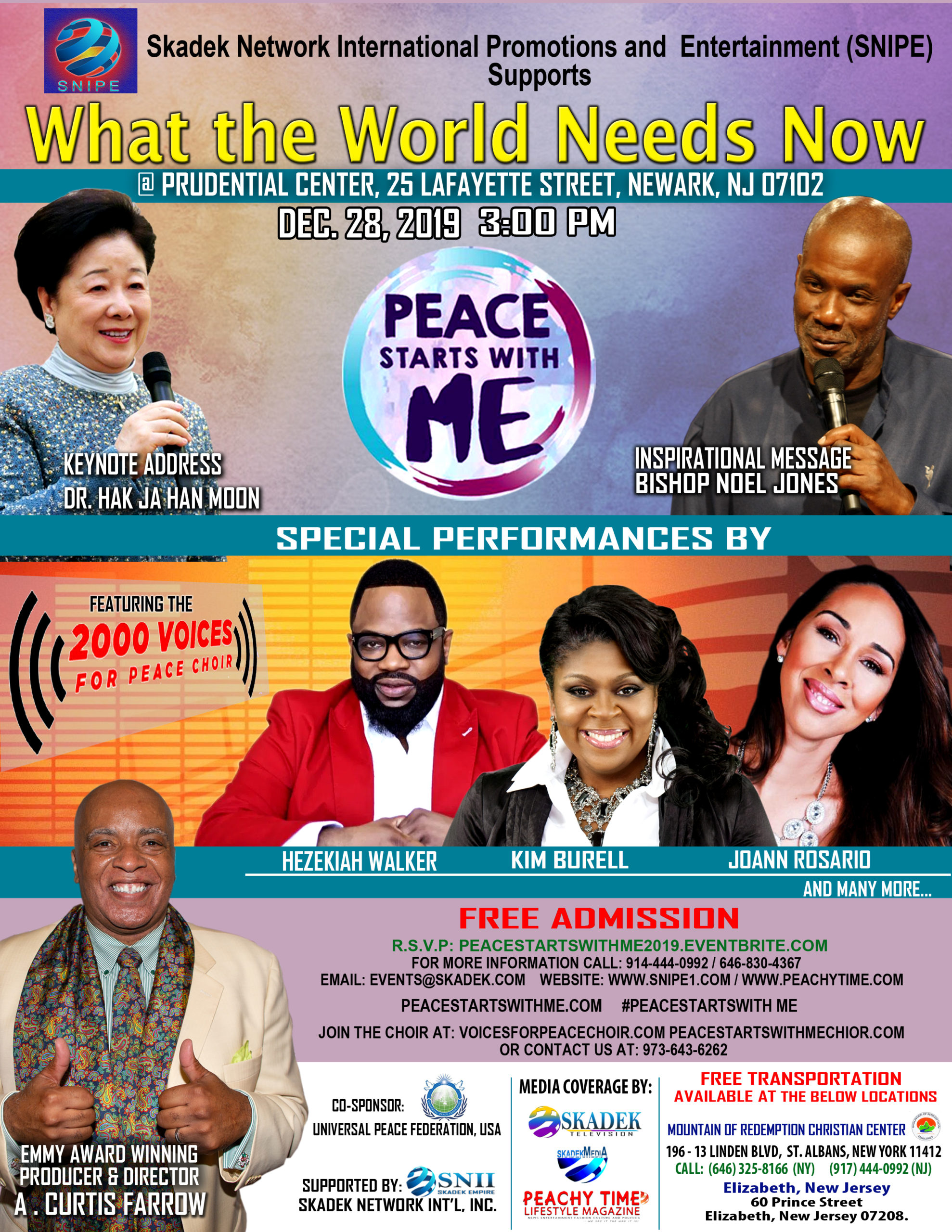 PEACE STARTS WITH ME CONCERT 2019 - UPDATED
