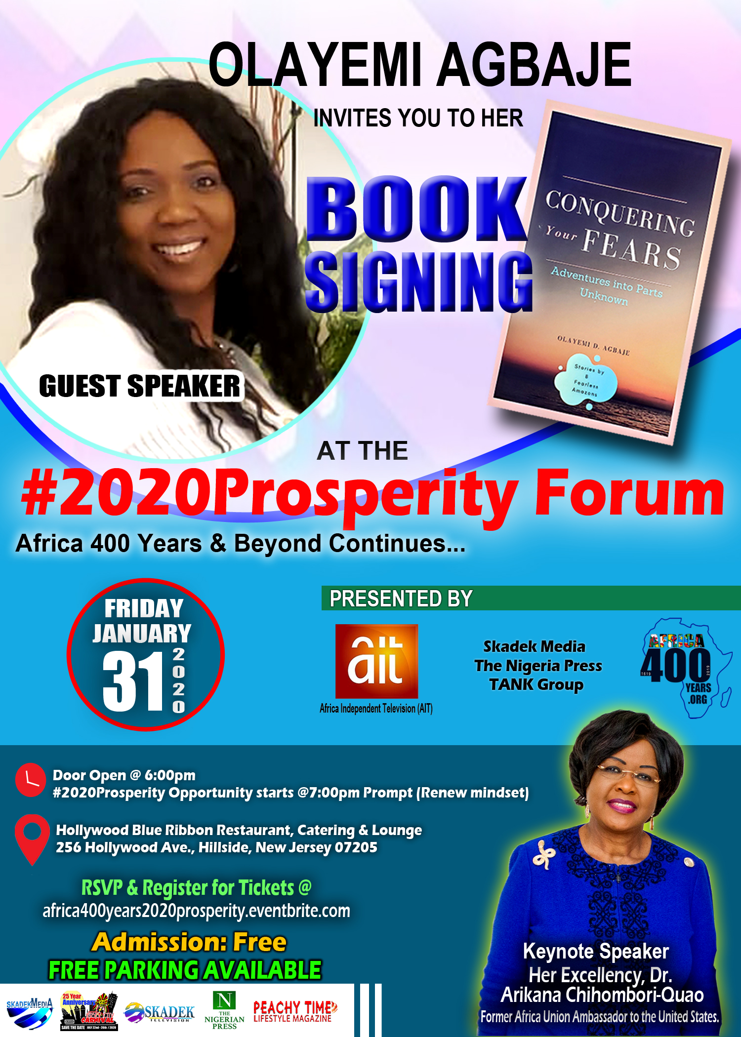 2020PROSPERITY BOOK SIGNING FLYER