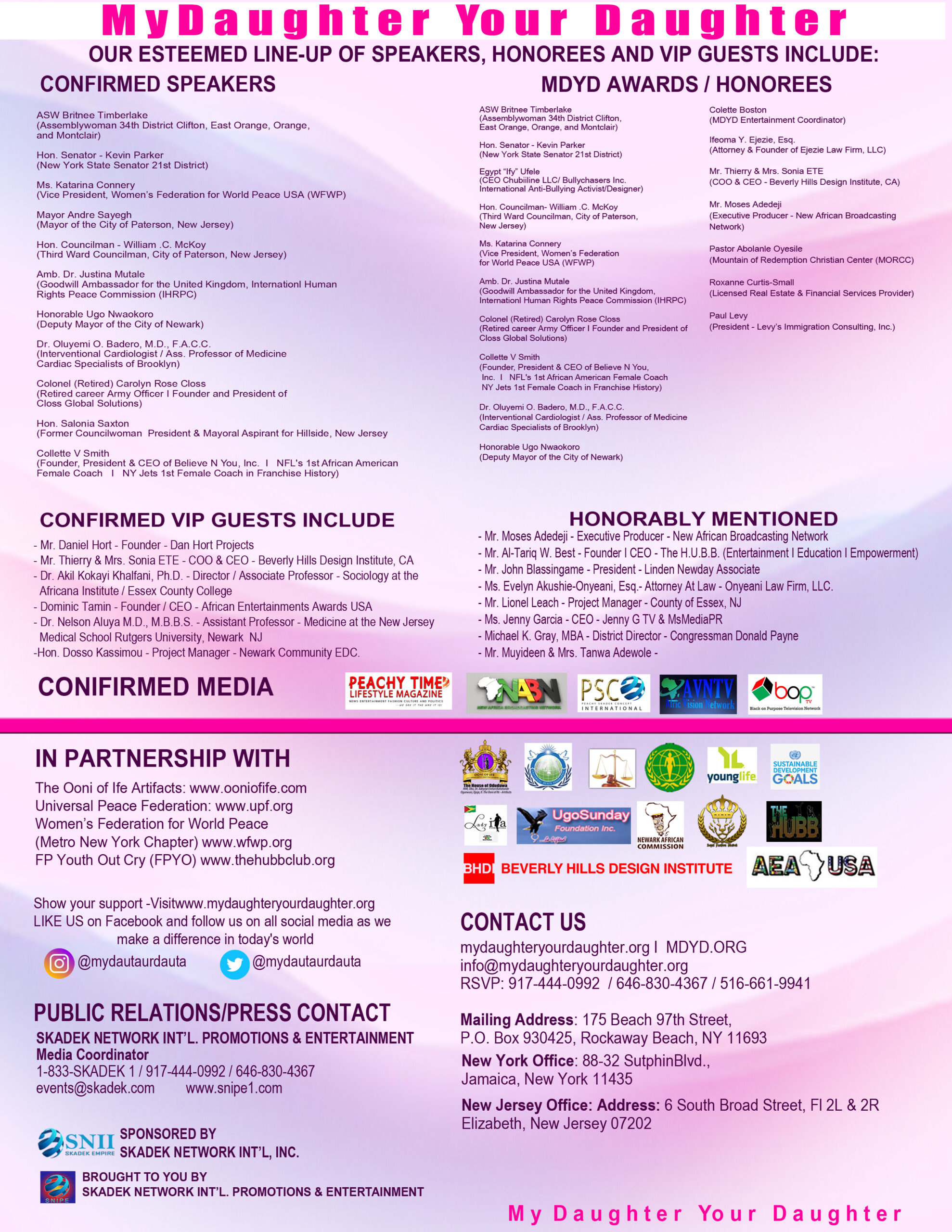 MDYD 2019 Overview page 2