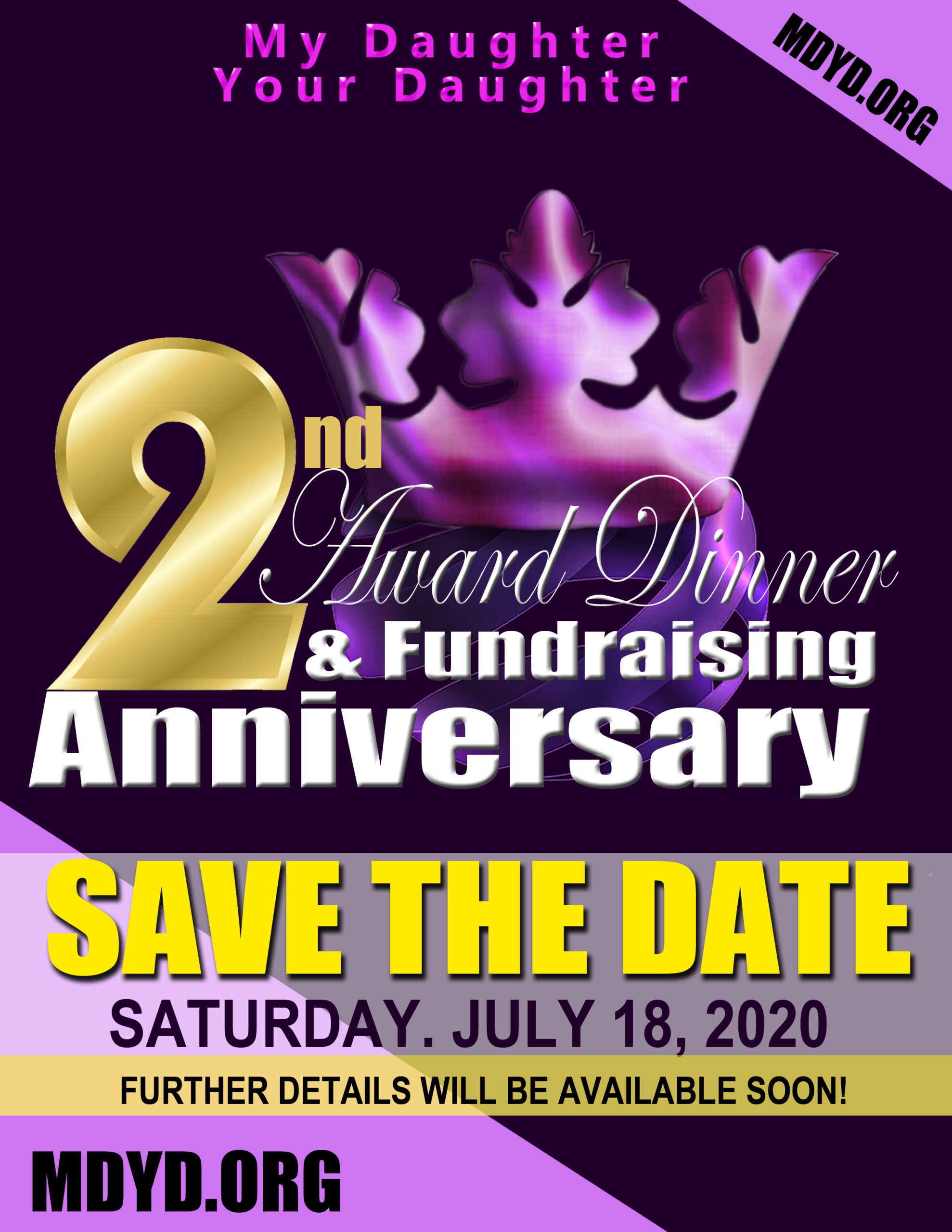 MDYD SAVE THE DATE