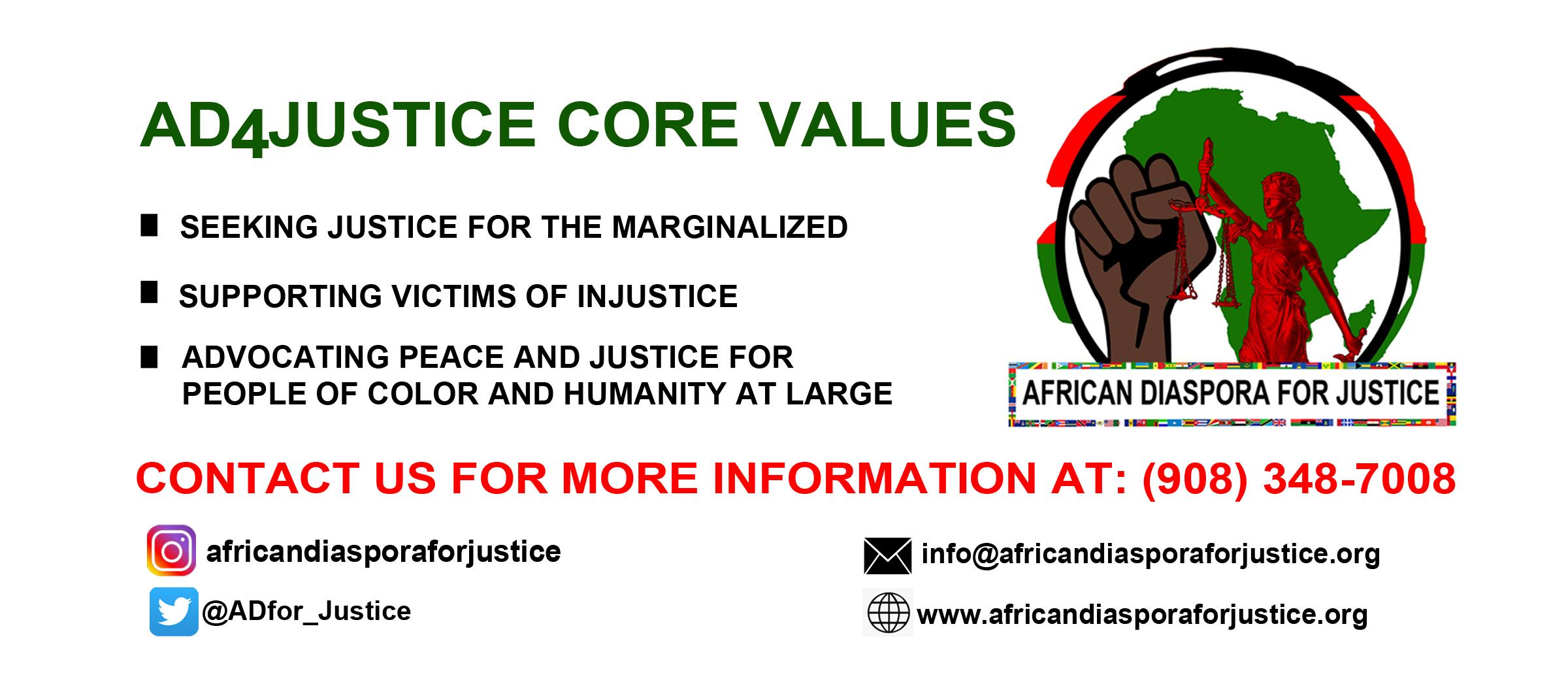 AFRICAN DIASPORA FOR JUSTICE FB COVER