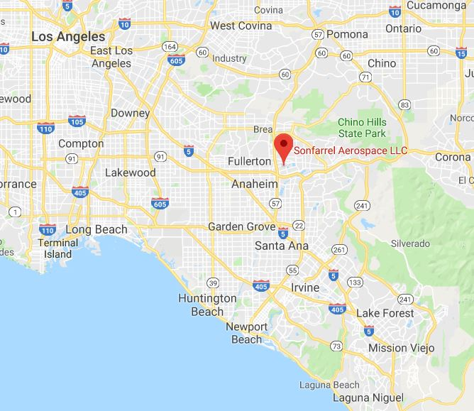 Google map of Son Aero