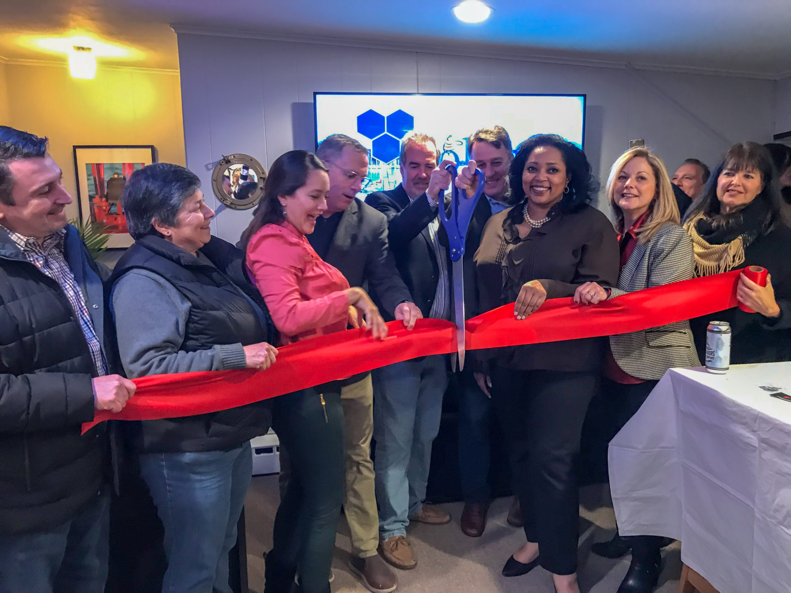 Colony Workplaces Ribbon Cutting with Huntington Chamber of Commerce