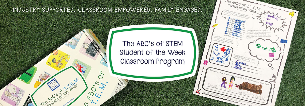 The ABC's of STEM Student of the Week Program from Karyn Burns ABCs