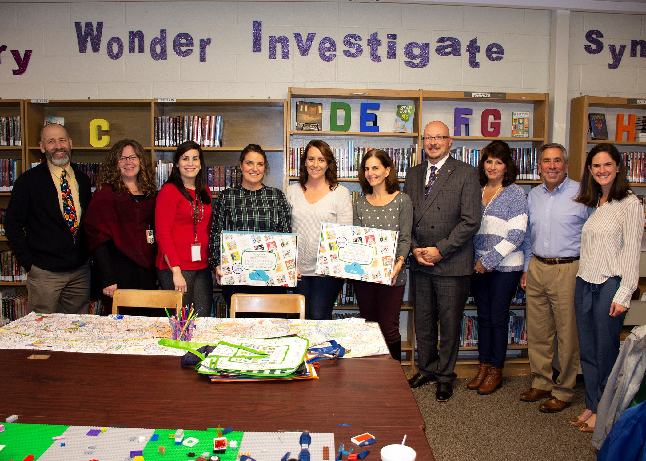 Bartell Helps Donate over 75 STEM Kits to Local Elementary School