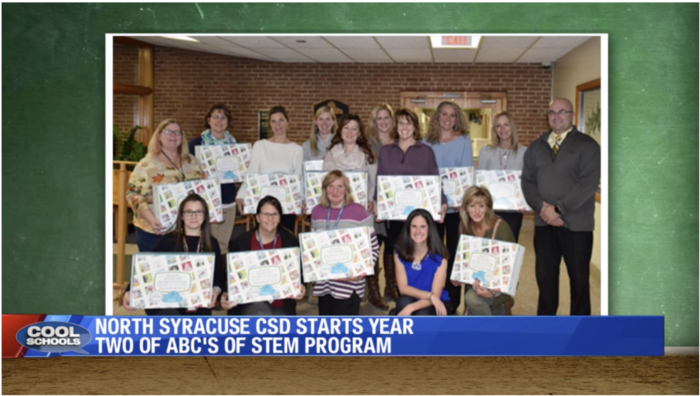 Cool Schools LocalSyr.com Karyn Burns ABC's of STEM North Syracuse CSD