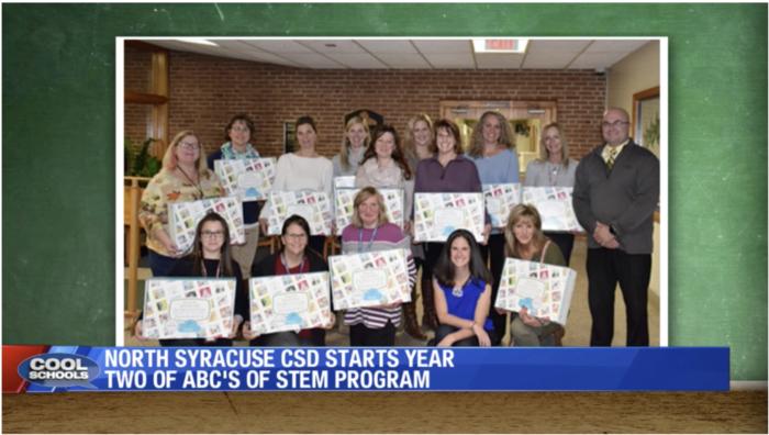 Cool Schools LocalSyr.com Karyn Burns ABC's of STEM North Syracuse CSD