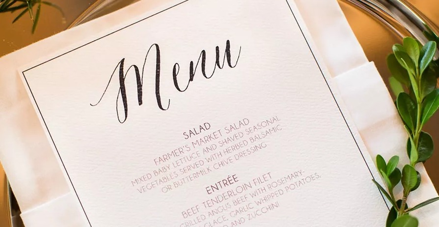 The Top 10 Wedding Catering Trends
