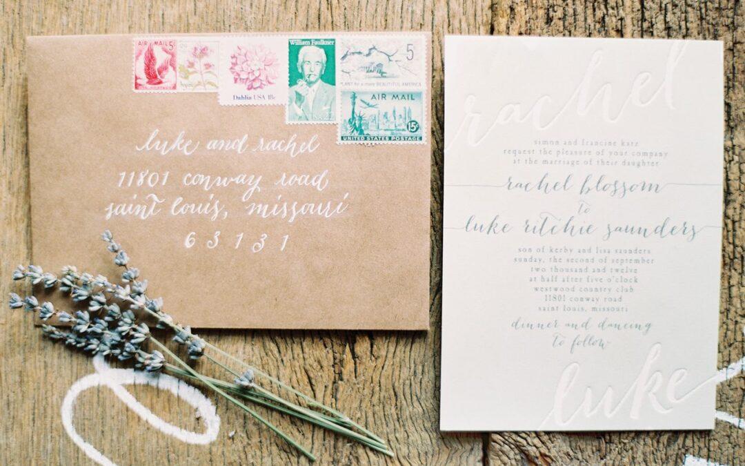 Eco-Friendly Tips & Tricks For Wedding Invitations