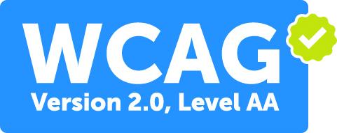 Visite our website wcag compliant