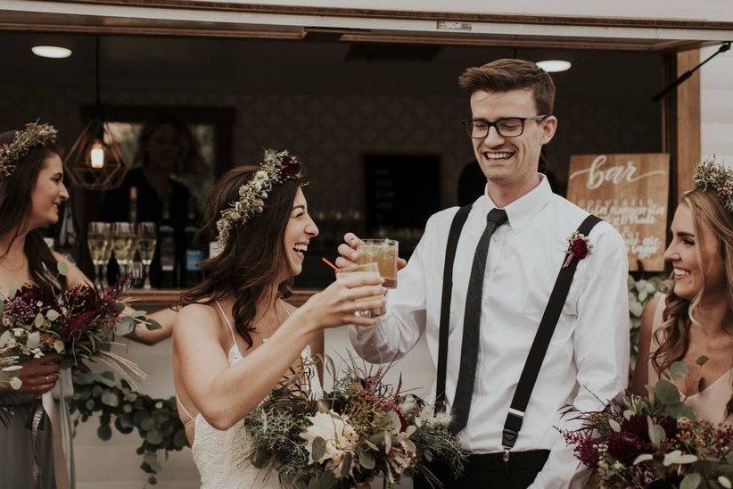 Raise a Glass to 8 Wedding Cocktail Trends for 2020
