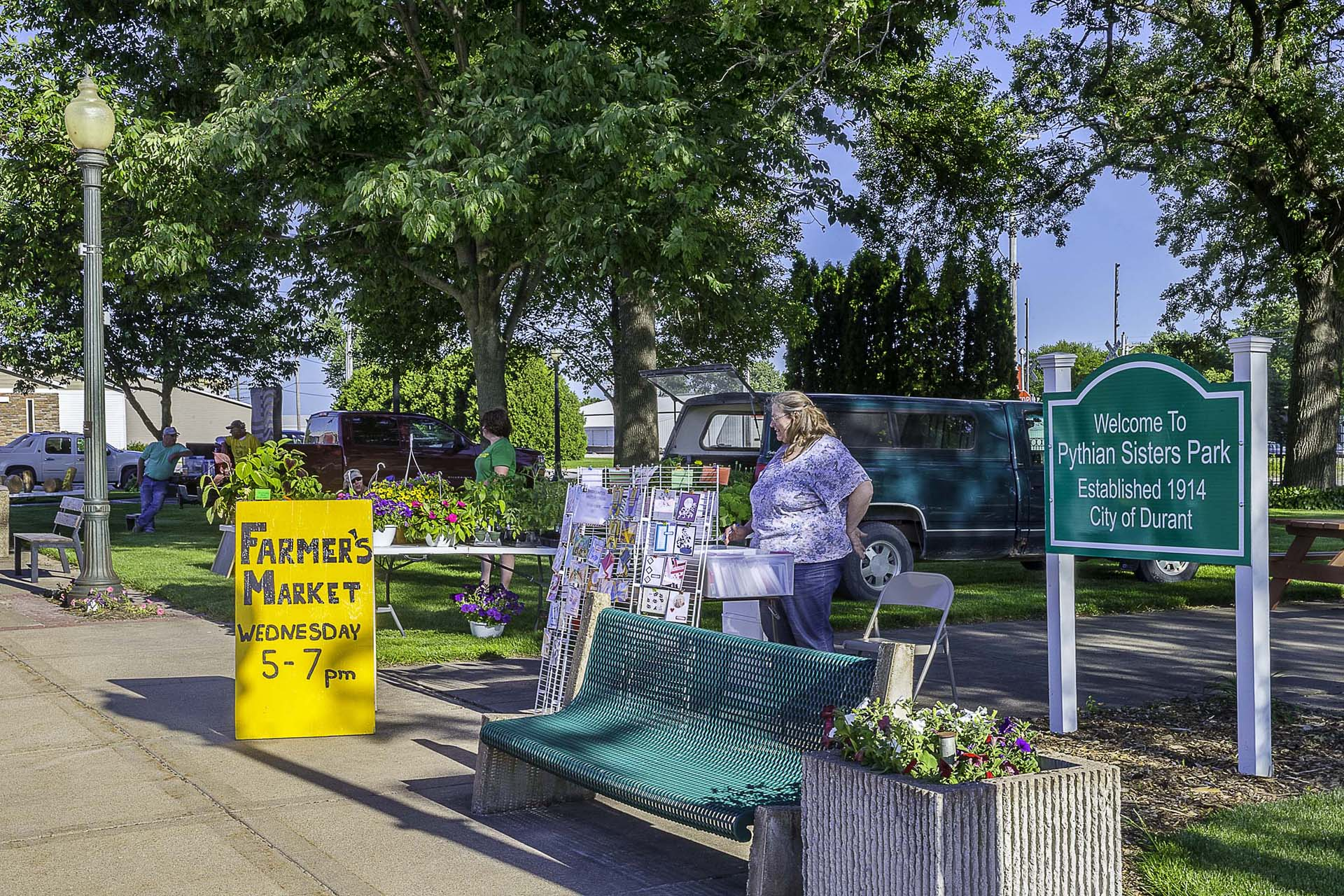 Durant Farmer's Market