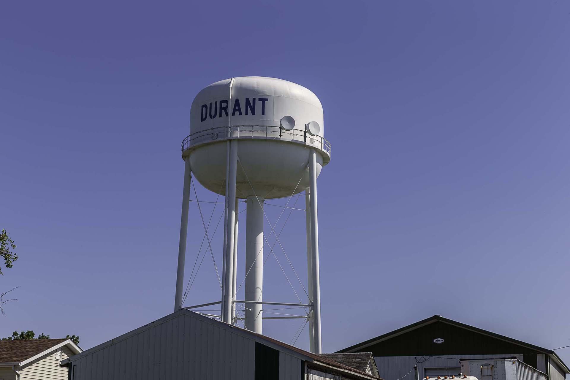 Durant, Iowa City Services