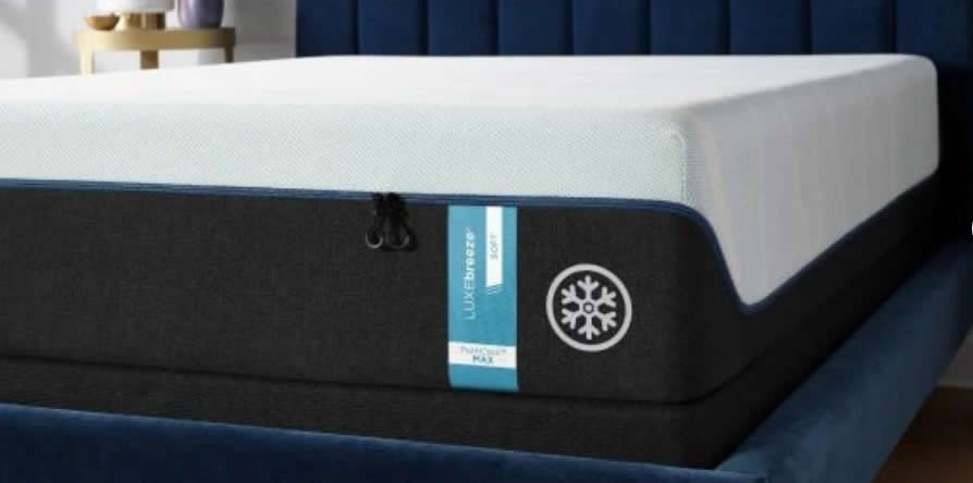 Up to 8° cooler++ - all night long Available Mattress Feels SOFT, MEDIUM, MEDIUM HYBRID, FIRM