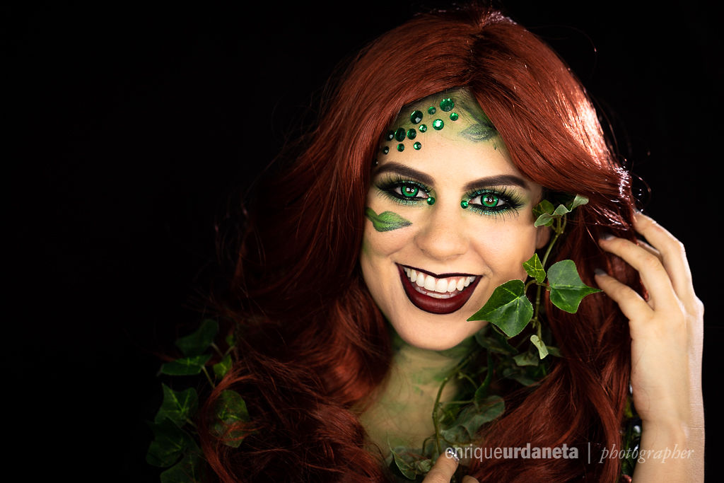 Poison Ivy Halloween Makeup Ideas Jess Bonilla