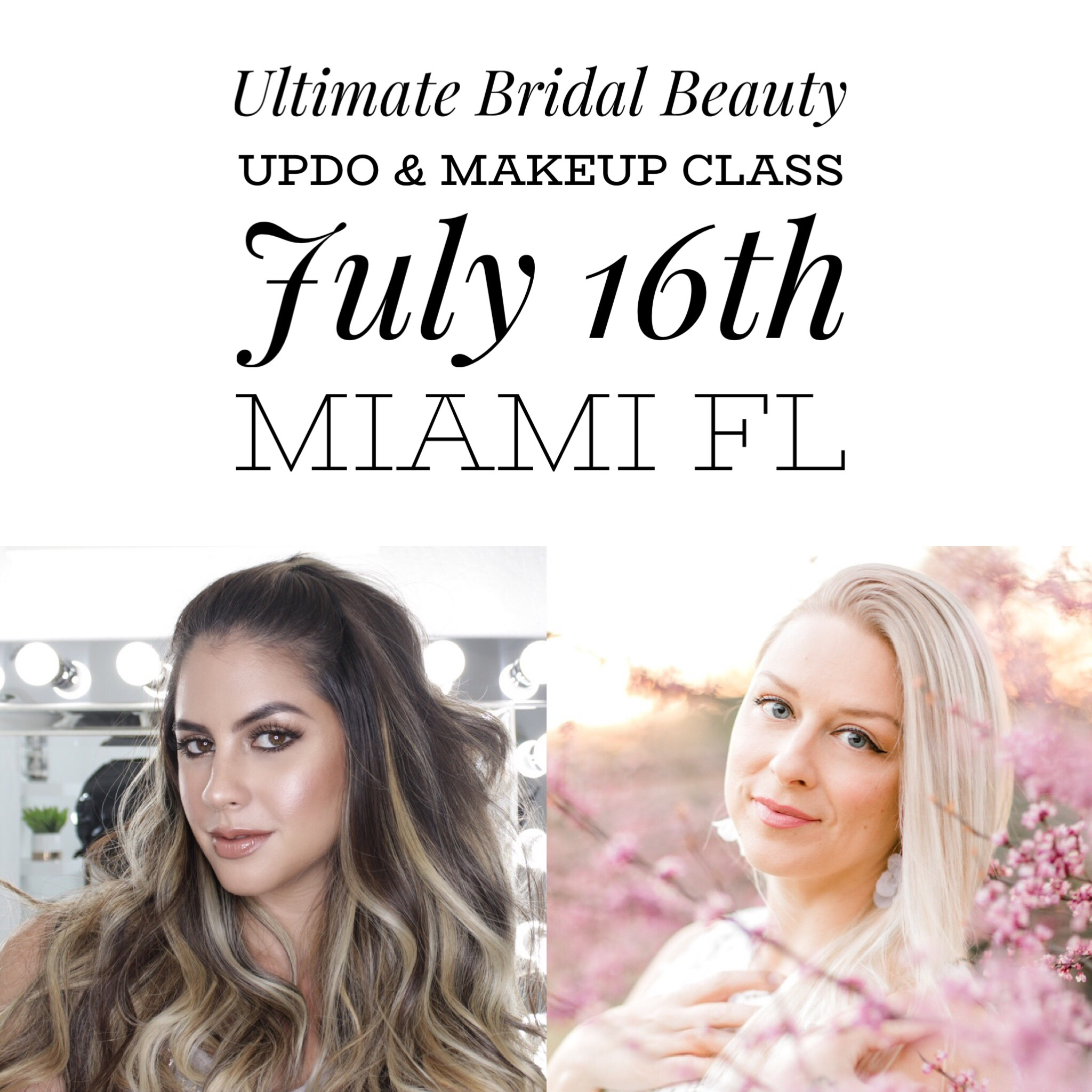 bridal updo makeup class renee marie jess bonilla miami the makeup club