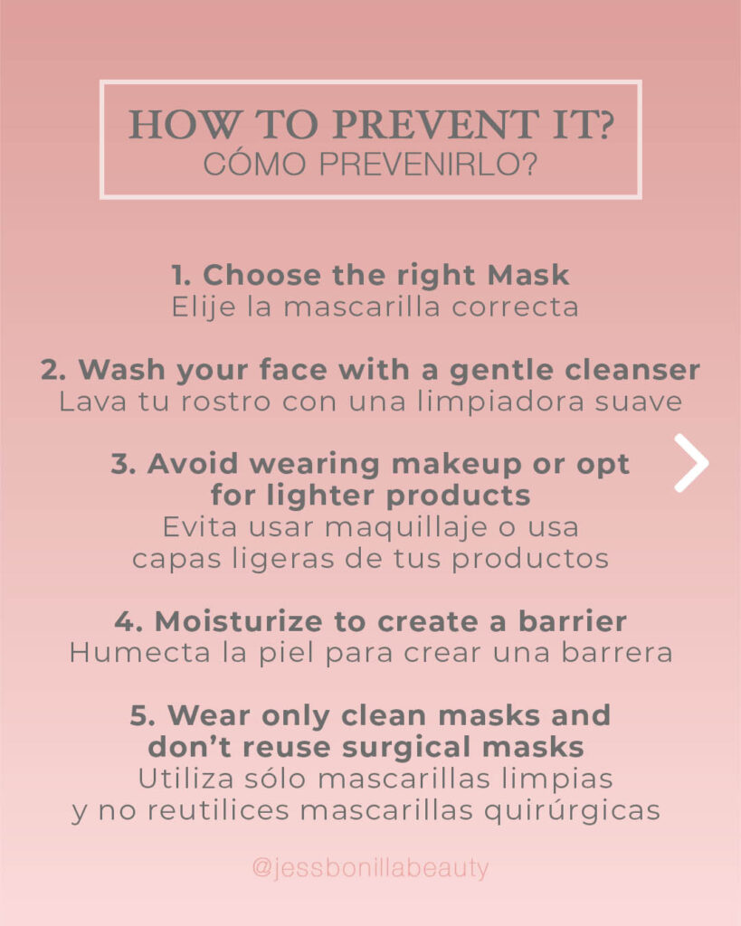 MASKNE How to prevent it and treat COVID 19 Jess Bonilla Beauty