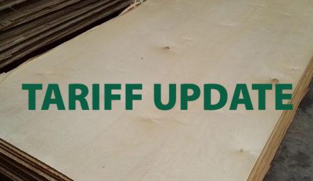 Chinese Birch Plywood Tariff Update