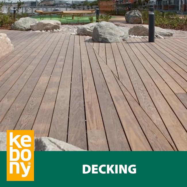 Kebony Decking Image