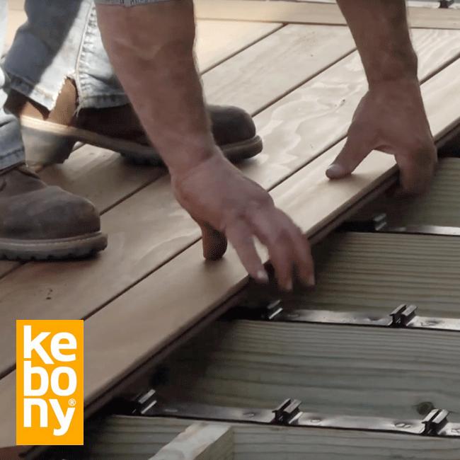 South Carolina Home uses Step-Clip for Kebony System