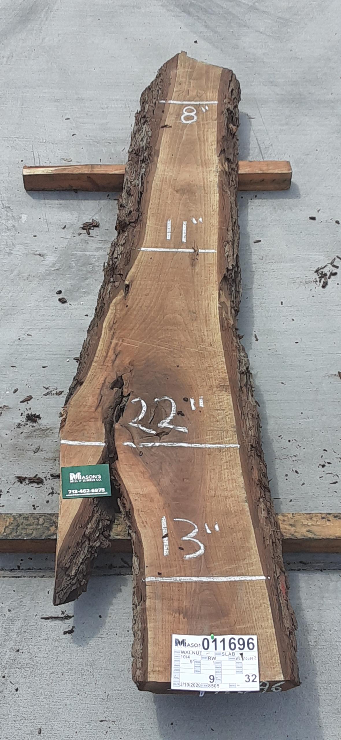 Walnut Slab 11696 Image