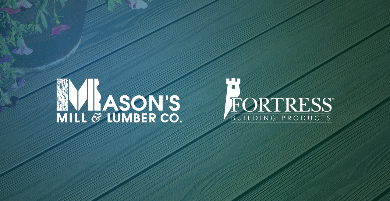 Mason's Mill Product Spotlight: Fortress Decking
