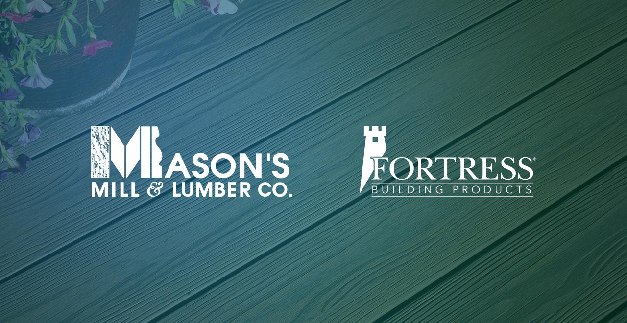 Mason's Mill Product Spotlight: Fortress Decking