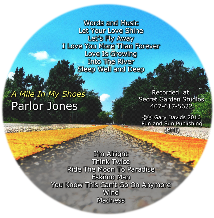 New Parlor Jones CD available now