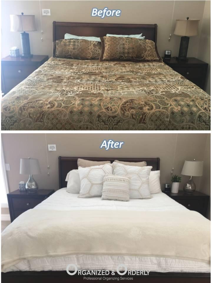 bedroom staging professionals