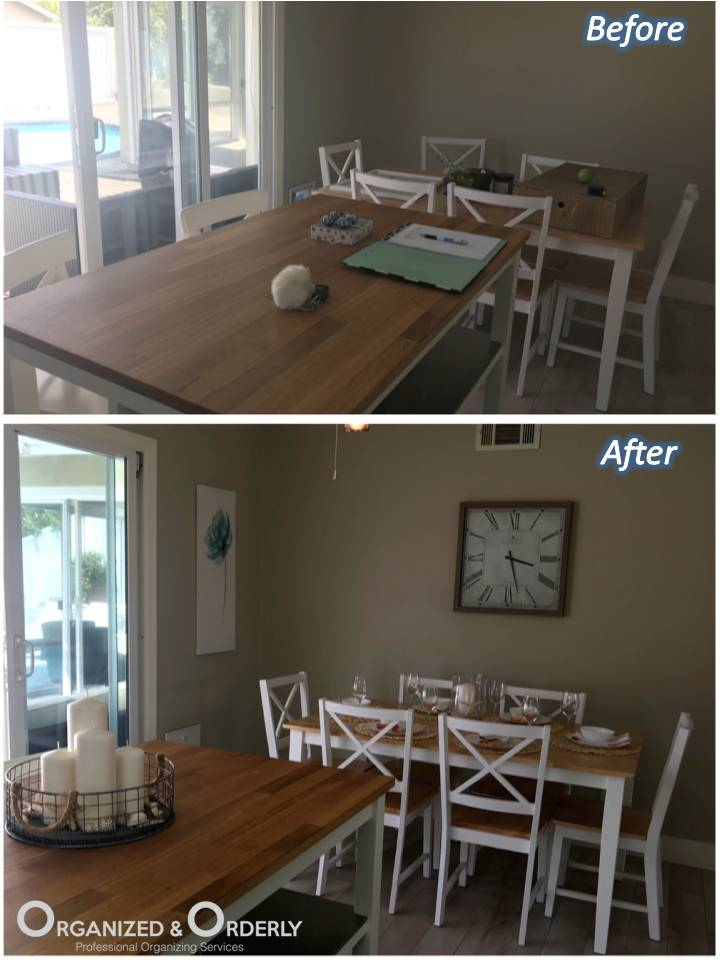 dining area layout