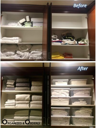 Garage and Laundry Room Staging